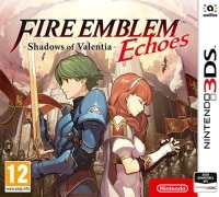 Fire Emblem Echoes - Shadows of Valentia - Cover