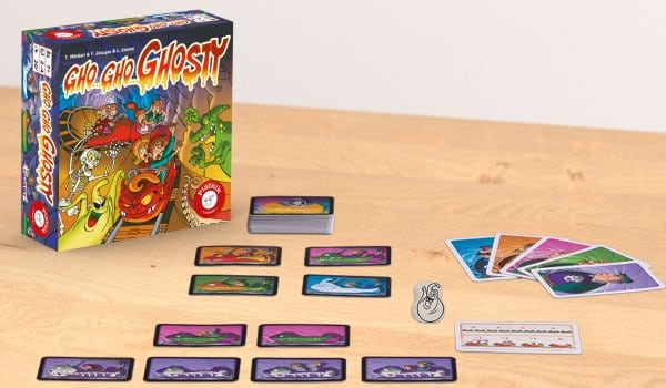 Gho Gho Ghosty - Spielmaterial