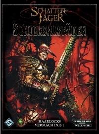 Warhammer 40.000: Schattenjäger – Haarlocks Vermächtnis #1: Schicksalsfäden, Rechte bei Ulisses Spiele und Heidelberger Spieleverlag