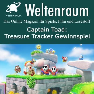 Gewinnspiel Captain Toad