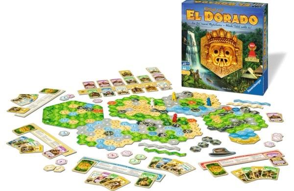 Wettlauf nach El Dorado - Spielaufbau