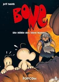 Bone #6: Die Höhle des Alten Mannes, Rechte bei popcom