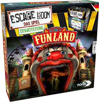 Escape Room - Welcome to Funland - Cover