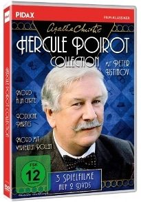 Agatha Christie: Hercule Poirot Collection, Rechte bei Pidax Film