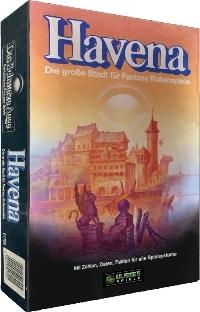 Havena Stadtbox - Kaiser-Retro-Edition (remastered), Rechte bei Ulisses Spiele