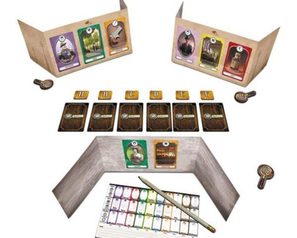 13 Indizien - Spielaufbau
