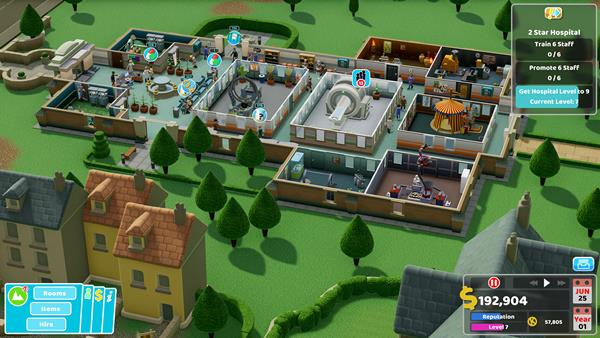 Two Point Hospital Bild 3