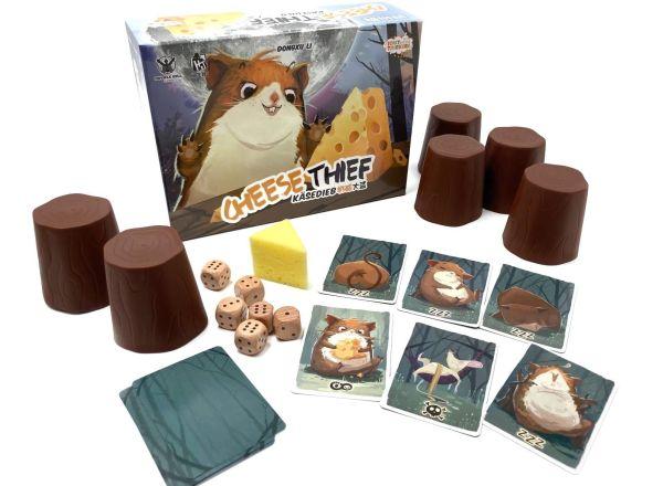 Käsedieb - Spielmaterial, Rechte bei Heidelbär Games