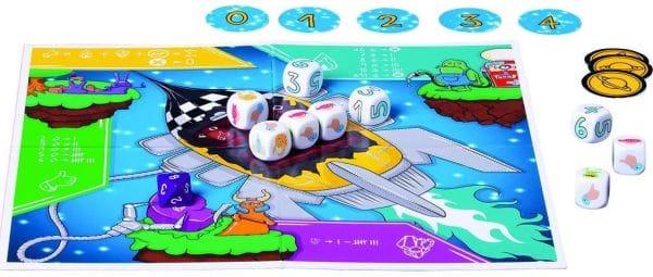 Space Taxi - Spielbrett, Rechte bei Piatnik