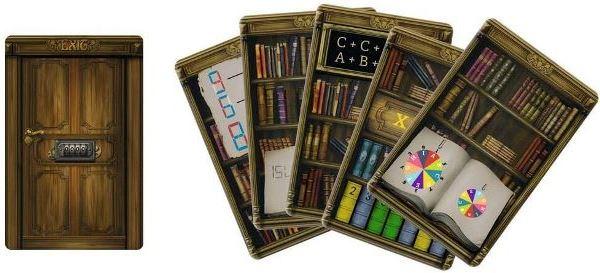 Die verlassene Bibliothek - Ein Escape Spiel - Spielmaterial, Rechte beim Moses Verlag