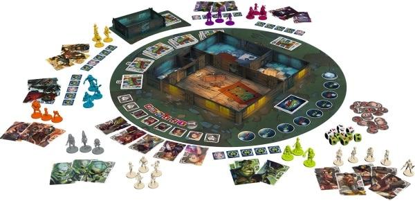 Monster Slaughter - Aufbau, Rechte bei Boardgame Box