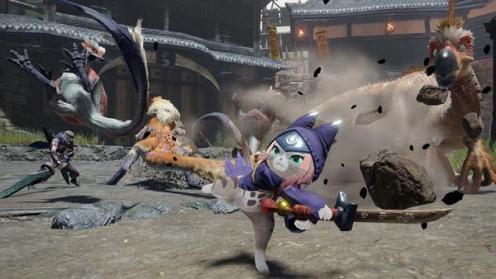 Monster Hunter Rise, Rechte bei Capcom