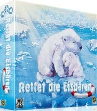 Rettet die Eisbären - Cover, Rechte beim Kobold Spieleverlag