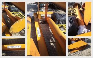 1/2 Ton Industrial Crane Inc Jib Crane - Used