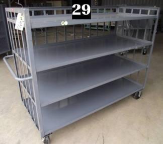 """Heavy Duty Welded Cart #29 (72""""x30""""x57"""") - New Surplus"""