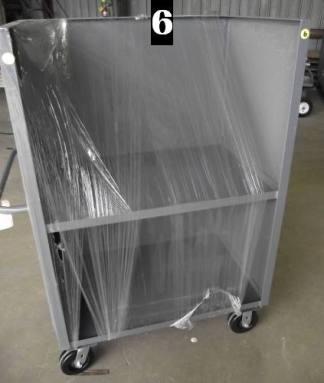 """Heavy Duty Welded Cart #6 (37""""x25""""x58"""") - New Surplus"""