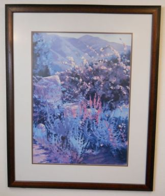 Art Print 24 - Mountain Flower - Used