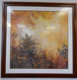 Art Print 48 - Sunset Ferns - Used