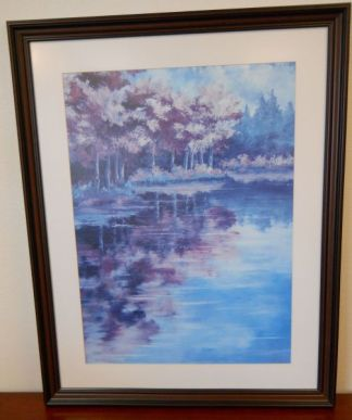 """Art Print 9 - September Reflections - Courthouts """"Peggy"""" - Used"""