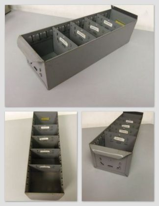 Steel Shelf Bins - Used
