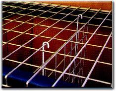 "Pallet Rack Wire Deck Dividers 24""x48"""