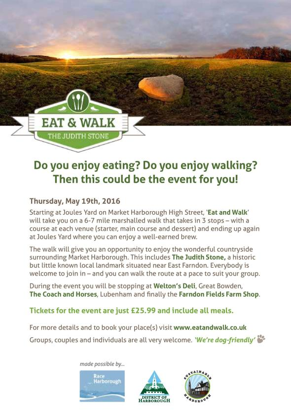 Eat&Walk - The Judith Stone - flyer