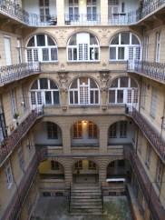 Innenhof unseres Hostels
