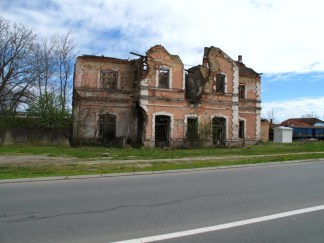 Bahnhofsgebäude in Vukovar