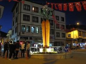 die Rübe,das Wahrzeichen der Stadt Baypazan