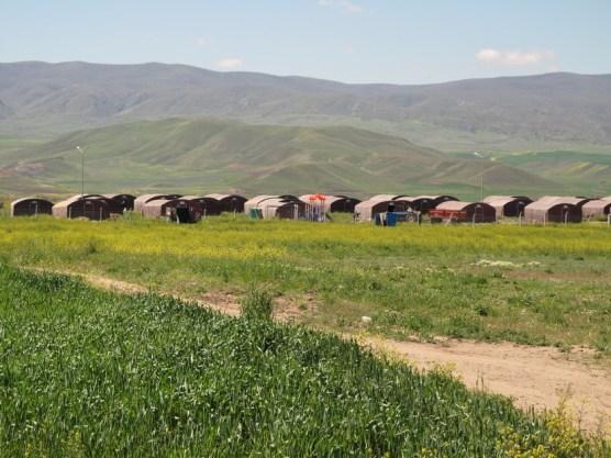 Flüchtlingslager im Nichts