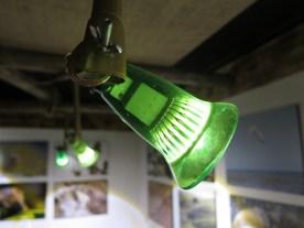 Lampe aus Flaschenhals