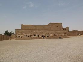 In dieser Festung lebten ca 2000 Menschen, nach sozialer Schicht streng getrennt in drei Etagen