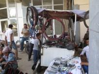 der typische zentralasiatische Fahrradshop