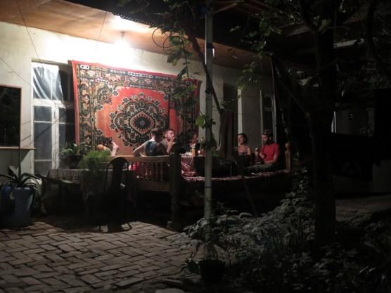 gemütlicher Innenhof im Badohir