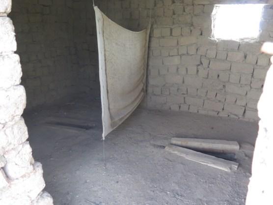Sanitärraume der Moschee