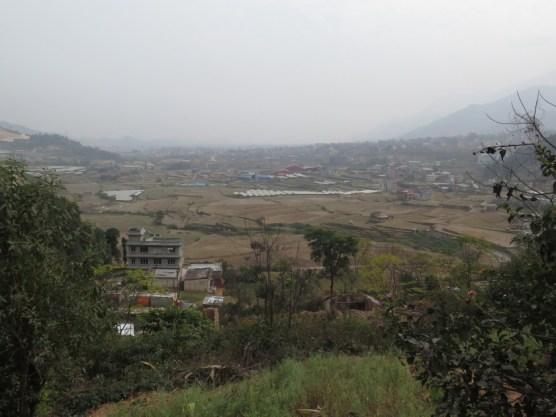 Anfahrt nach Kathmandu