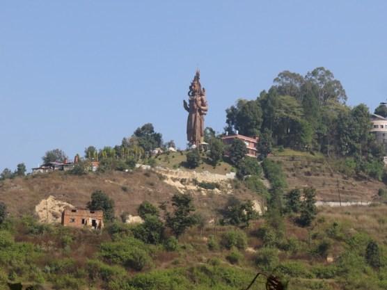 die größte Shivastatue