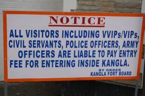 Beachtenswert, dass auch VIPS bezahlen müssen