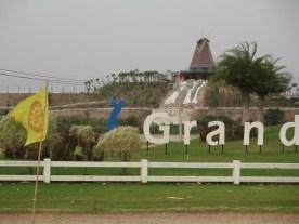 der erste exlusive Golfplatz- wir nähern uns Bangkok!
