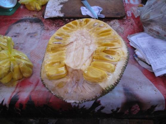 Jackfruit, sehr intensiv im Geschmack