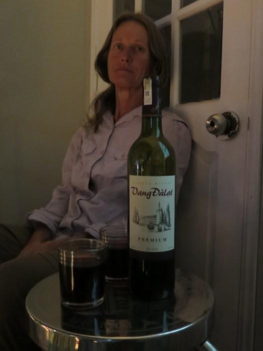 Der erste Rotwein seit langem! - Aus Da Lat!