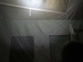 Es gibt hier überraschend viele Moskitos- und wir sind froh über das Moskitonetz über´m Bett