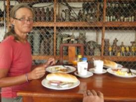 American breakfast mit Granaten