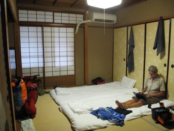 Hostelzimmer im japanischen Stil