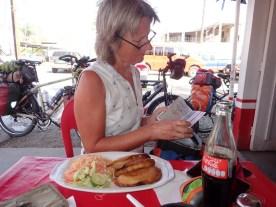 Erstes Essen in Mexiko
