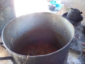 ... mit leckerer Suppe ...