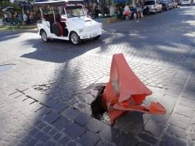 mexikanische Verkehrssicherung