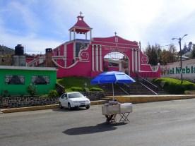 Kirche, pink