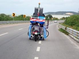 Er war der Besen- oder Pausenwagen für Radler