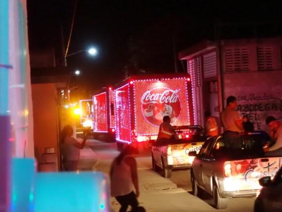CocaCola- Weihnachtskolonne